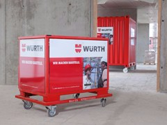 Carrello tecnico BOX BAULOC SERVICE - WÜRTH