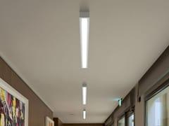 Plafoniera a LED in alluminio e vetroBOX_SB - LINEA LIGHT GROUP