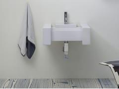 Lavabo rettangolare sospeso BOX | Lavabo sospeso - Box