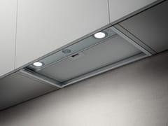 Cappa in acciaio inox ad incasso con illuminazione integrataBOXIN - ELICA