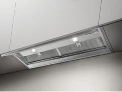 Cappa in acciaio inox ad incasso con illuminazione integrataBOXIN NO DRIP - ELICA