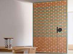 Elemento tridimensionale in terracotta per pareti divisorieBRAC - MUTINA