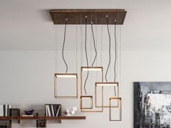Lampada a sospensione a LED in metalloBRASSIE - APP DESIGN