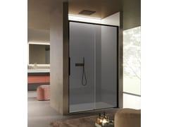Box doccia a nicchia in vetro con porta scorrevoleBRAVE 02 - DISENIA