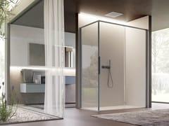 Box doccia angolare con porta scorrevoleBRAVE 03 - DISENIA