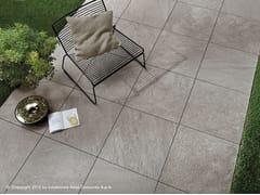 Pavimento per esterni in gres porcellanato effetto pietra BRAVE FLOOR | Pavimento per esterni in gres porcellanato - Brave