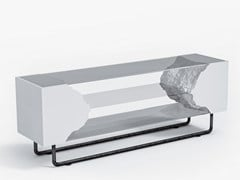 Mobile TV in legno e vetroBREAKFREE | Mobile TV - KASSONE INDIVIDUAL FURNITURE
