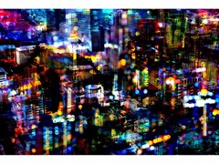Stampa fotografica BRIGHT LIGHTS BIG CITY - FINE ART - 99 LIMITED EDITIONS
