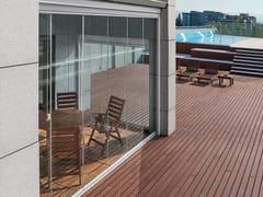 Frigerio Living, BRILLANTE Porta-finestra scorrevole impacchettabile in alluminio-vetro
