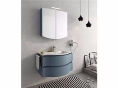Mobile lavabo laccato sospeso con cassetti BROADWAY B2 - Urban