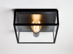 Lampada da soffitto in acciaio inox e vetroBRONTE - ASTRO LIGHTING