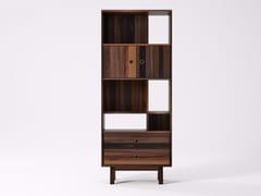 Libreria autoportante in legno di recupero BROOKLYN BF19-MH - Brooklyn