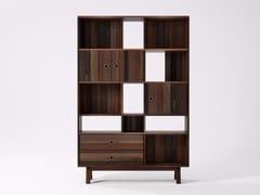 Libreria autoportante in legno di recupero BROOKLYN BF22-MH - Brooklyn