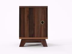 Comodino quadrato in legno in stile moderno BROOKLYN BF30-MH - Brooklyn