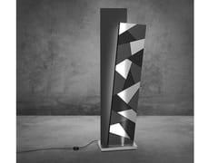 Lampada da terra in metallo verniciato e HPLBROTHERS - EXPO