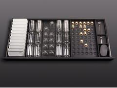 Divisorio per cassetti in legno con set di tazzeBT45 COFFEE EXPERIENCE - BAUTEAM