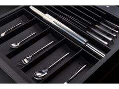 Divisorio per cassetti in legno con set di posate in acciaioBT45 COOKING EXPERIENCE - BAUTEAM