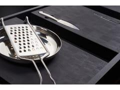 Tagliere rettangolare in legno con coltello in acciaioBT45  EXPERIENCE - BAUTEAM