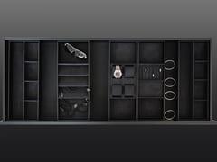 Divisori per cassetti in legno e camoscioBT45 FINATTI - BAUTEAM