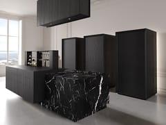 Cucina con isola in marmo e legnoBT45 THE K KITCHEN EXPERIENCE - BAUTEAM
