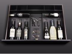 Divisorio per cassetti in legno con set di cavatappiBT45 WINE EXPERIENCE - BAUTEAM