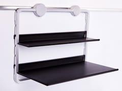Mensola / portautensili da cucina in alluminio e ABSBUBBLE | Mensola - MAT INTER