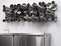 Portabottiglie / Dispensa in acciaio inox BUBBLE TOOLS - XERA BY AREX