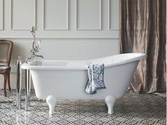 Vasca da bagno ovale in acrilico su piediBUCKINGHAM - BATHROOM BRANDS GROUP