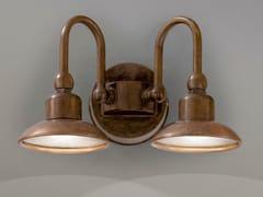 Lampada da parete per esterno in metalloBUGATTI | Lampada da parete per esterno in metallo - ALDO BERNARDI