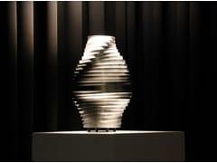 Lampada da tavolo a LED in acciaio inoxBUMBLEBEE | Lampada da tavolo - BRILLAMENTI BY HI PROJECT