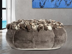 Pouf imbottito in poliestere BUNNY | Pouf - APCOLLECTION