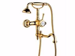 Miscelatore per vasca a muro con doccetta BURLESQUE | Miscelatore per vasca a muro - Burlesque