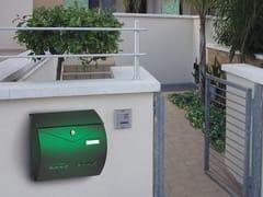 Alubox, BUSTA Cassetta postale in lamiera zincata per esterni