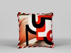 Cuscino quadrato sfoderabile BUTT PILLOW - ART05 - Limited Edition Art Pillows