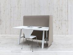 Pannello divisorio da scrivania fonoassorbenteBuzziWrap FrontDesk - BUZZISPACE