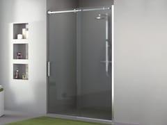 Kit per box doccia in acciaio inoxBX-02 - METALGLAS BONOMI