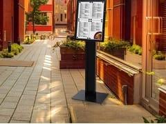 Bacheca a muro autoportante bifaccialeBacheca porta menù - STUDIO T