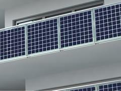 Parapetto in vetro fotovoltaicoBALCONE FOTOVOLTAICO - FARAONE