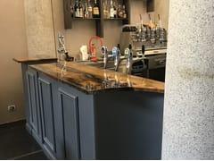 Bancone bar in legno di briccolaBancone bar - ANTICO TRENTINO DI LUCIO SEPPI
