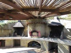 Barbecue in travertinoBarbecue 11 - GARDEN HOUSE LAZZERINI