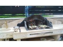 Barbecue in travertinoBarbecue 6 - GARDEN HOUSE LAZZERINI