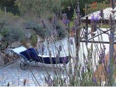 Lettino da giardino in ferro battutoLettino prendisole 2 - GARDEN HOUSE LAZZERINI