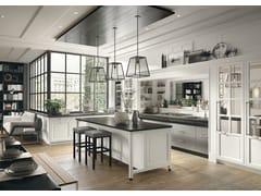 Cucina componibile in stile moderno con isola con maniglieBellagio - MARCHI CUCINE