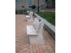 Panchina in pietra naturalePanchina 1 - GARDEN HOUSE LAZZERINI