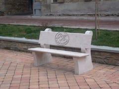 GH LAZZERINI, Panchina 1 Panchina in pietra naturale
