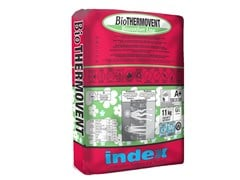 Intonaco deumidificante termoisolante ignifugoBioTHERMOVENT - INDEX