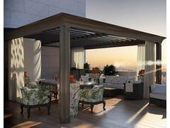 La Casa dei Limoni, Pergola Bioclimatica Pergola bioclimatica in alluminio a lamelle orientabili