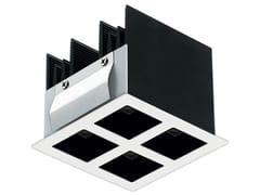 Faretto a LED quadrato in alluminio da incassoBitpop 2.2 - L&L LUCE&LIGHT