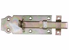 Catenaccio portalucchetto diritto in acciaio zincatoCatenaccio portalucchetto diritto - UNIFIX SWG