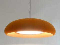 Lampada a sospensione fonoassorbente a LEDBuzziDome - BUZZISPACE